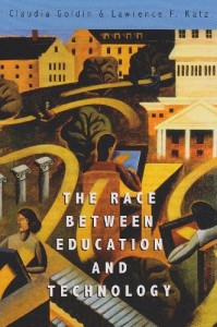 The best books on The Inequality Crisis - The Race between Education and Technology by Claudia Goldin and Lawrence F Katz