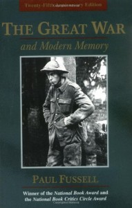 Will Self on Literary Influences - The Great War and Modern Memory by Paul Fussell