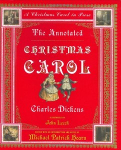 The best books on Christmas - The Annotated Christmas Carol by Charles Dickens