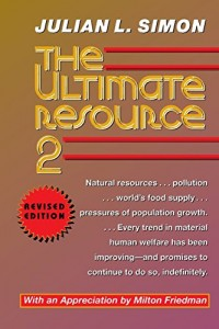 The best books on Technology and Optimism - The Ultimate Resource 2 by Julian Lincoln Simon