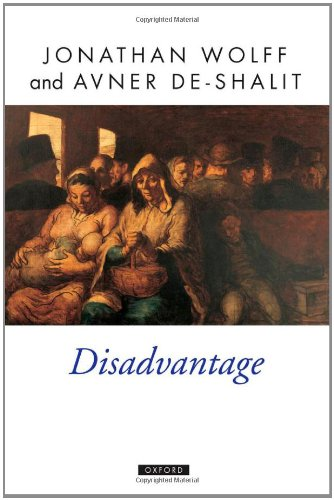 The best books on Political Philosophy - Disadvantage by Jonathan Wolff & Jonathan Wolff, Avner De-Shalit
