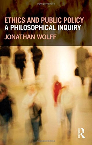 The best books on Political Philosophy - Ethics and Public Policy: A Philosophical Inquiry by Jonathan Wolff
