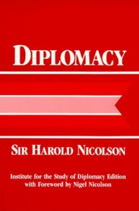 The best books on Negotiation - Diplomacy by Sir Harold Nicolson