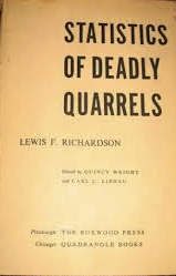 The best books on The Decline of Violence - Statistics of Deadly Quarrels by Lewis F Richardson