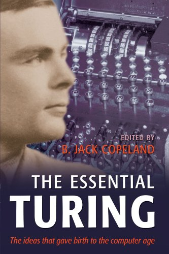 Luciano Floridi recommends the best books on the Philosophy of Information - The Essential Turing by Alan Turing