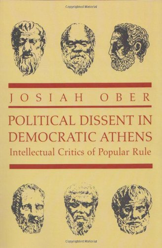 The best books on Plato - Political Dissent in Democratic Athens by Josiah Ober