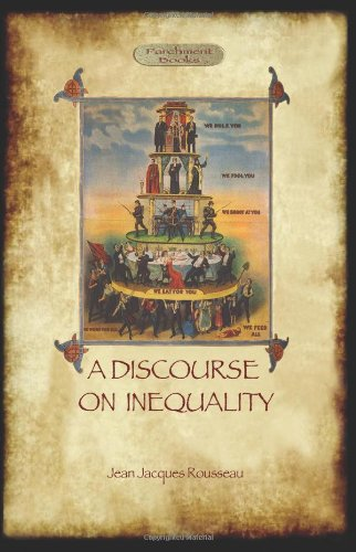 The best books on Deceit - Discourse on Inequality by Jean-Jacques Rousseau