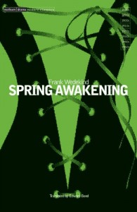The best books on Sex Education - Spring Awakening by Frank Wedekind