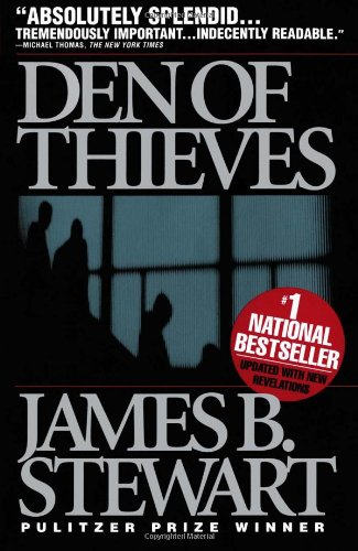 The best books on The Reagan Era: Den of Thieves by James B. Stewart