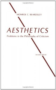 The best books on The Philosophy of Art - Aesthetics by Monroe Beardsley