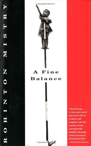 The best books on Nigeria - A Fine Balance by Rohinton Mistry