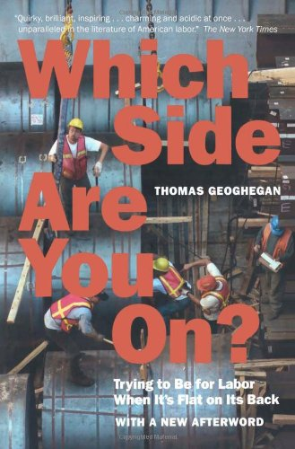 The best books on The Reagan Era: Which Side Are You on?: Trying to Be for Labor When It's Flat on Its Back by Thomas Geoghegan