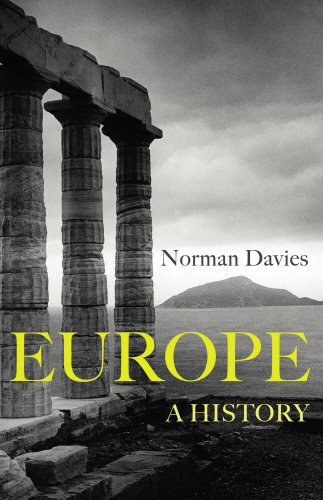 The best books on Europe's Vanished States - Europe: A History by Norman Davies