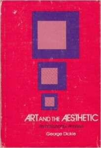 The best books on The Philosophy of Art - Art and the Aesthetic by George Dickie