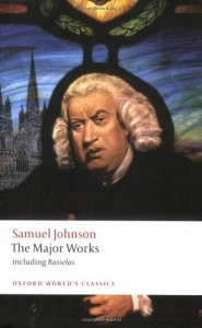 The best books on London's Addictions - Samuel Johnson: The Major Works by ed. by Donald Green