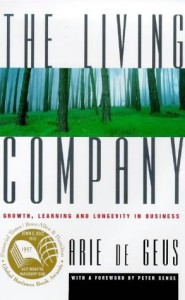 The best books on Futures - The Living Company by Arie de Geus