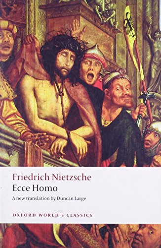 The best books on The Presocratics - Ecce Homo by Friedrich Nietzsche