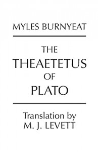 The best books on Socrates - Theaetetus by Plato