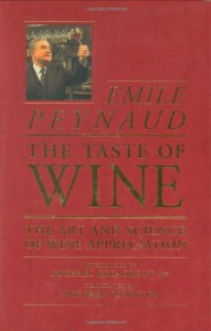The best books on Taste - The Taste of Wine by Émile Peynaud