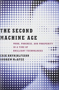 The best books on Artificial Intelligence - The Second Machine Age by Andrew McAfee & Erik Brynjolfsson