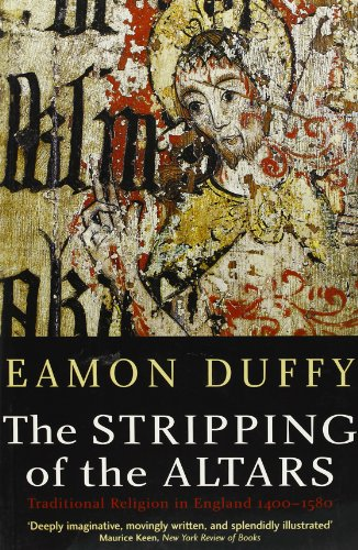 The best books on English Church Music - The Stripping of the Altars by Eamon Duffy