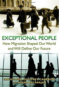 The best books on Immigration - Exceptional People by Ian Goldin