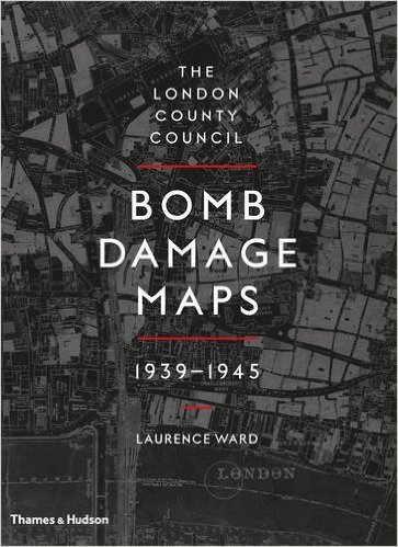 Bomb Damage Maps - London County Council - cover