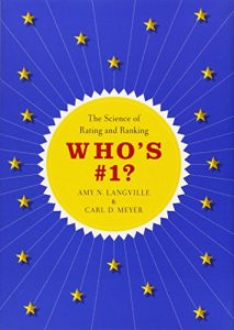 The best books on Applied Mathematics - Who's #1?: The Science of Rating and Ranking by Amy N. Langville and Carl D. Meyer
