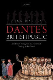 The best books on Dante - Dante's British Public by Nick Havely