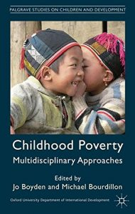 The best books on Children - Childhood Poverty: Multidisciplinary Approaches by Jo Boyden