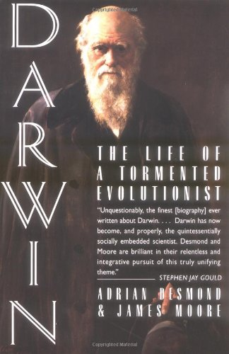 The Best Biology Books - Darwin: The Life of a Tormented Evolutionist by Adrian Desmond & James Moore