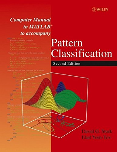 The best books on Health and the Internet - Computer Manual in MATLAB to Accompany Pattern Classification by D.G. Stork & Elad Yom-Tov