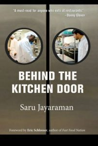 The best books on Women and Work - Behind the Kitchen Door by Sarumathi Jayaraman