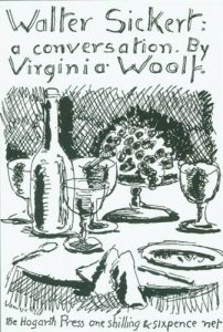 The best books on Virginia Woolf - Walter Sickert: A Conversation by Virginia Woolf