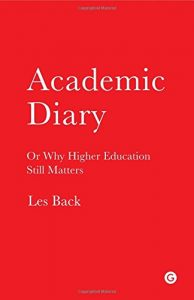 The best books on Academia - Academic Diary by Les Back