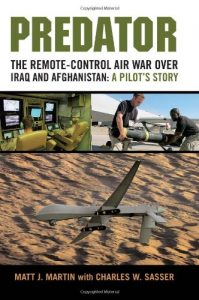 The best books on Drone Warfare - Predator by Matt Martin