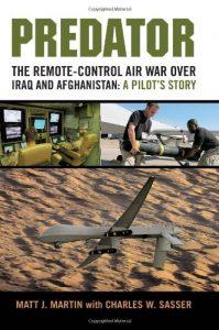 The best books on Drone Warfare - Predator by Matt Martin