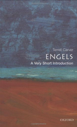 The best books on Marx and Marxism - Engels: A Very Short Introduction by Terrell Carver