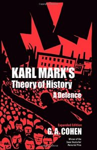The best books on Marx and Marxism - Karl Marx's Theory of History by G. A. Cohen