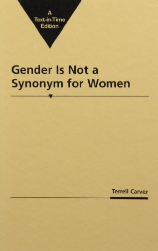 The best books on Marx and Marxism - Gender is Not a Synonym for Women by Terrell Carver
