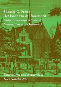 The best books on Food - Het Einde van de Universiteit by Louise Fresco