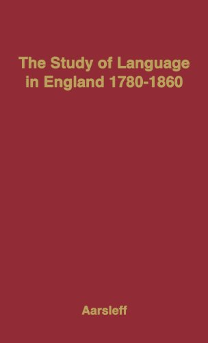 The best books on The Oxford English Dictionary - The Study of Language in England, 1780-1860 by Hans Aarsleff