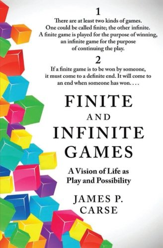 The best books on How the World Works - Finite and Infinite Games by James Carse