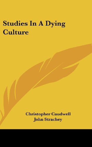 Roger Luckhurst on the life and works of H G Wells - Studies in a Dying Culture by Christopher Caudwell