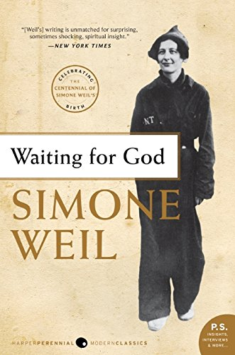 A N Wilson recommends the best Christian Books - Waiting on God by Simone Weil