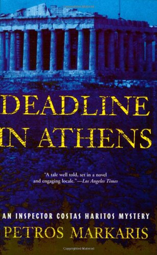 Christos Chomenidis recommends books on the Real Greece - Deadline in Athens by Petros Markaris