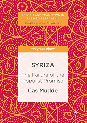 The best books on Populism - SYRIZA: The Failure of the Populist Promise by Cas Mudde