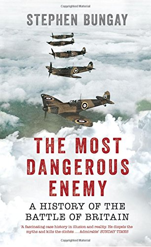 The best books on El Alamein - The Most Dangerous Enemy: A History of the Battle of Britain by Stephen Bungay