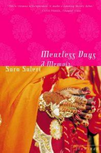 The Best Transnational Literature - Meatless Days: A Memoir by Sara Suleri