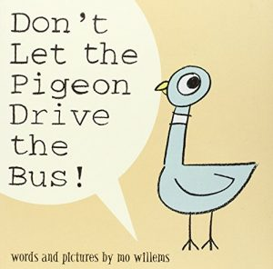 Funny Books for Kids - Don't Let the Pigeon Drive the Bus! by Mo Willems